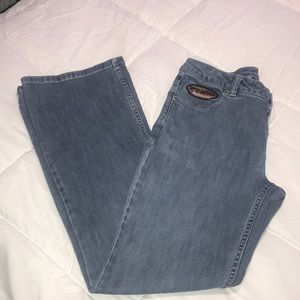 Harley Davidson Low Raise Jeans so 8